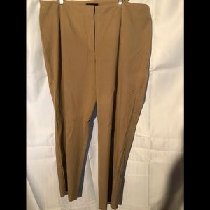 Talbots Woman tan pants size 22W